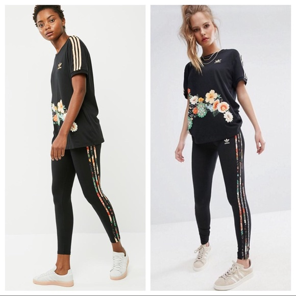 for whole family best selling new products ADIDAS FARM JARDIM LEGGINGS & MATCHING T-SHIRT SET